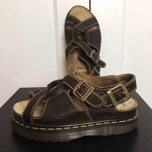 Dr Martens 90's Grunge Fisherman Flatform Sandals